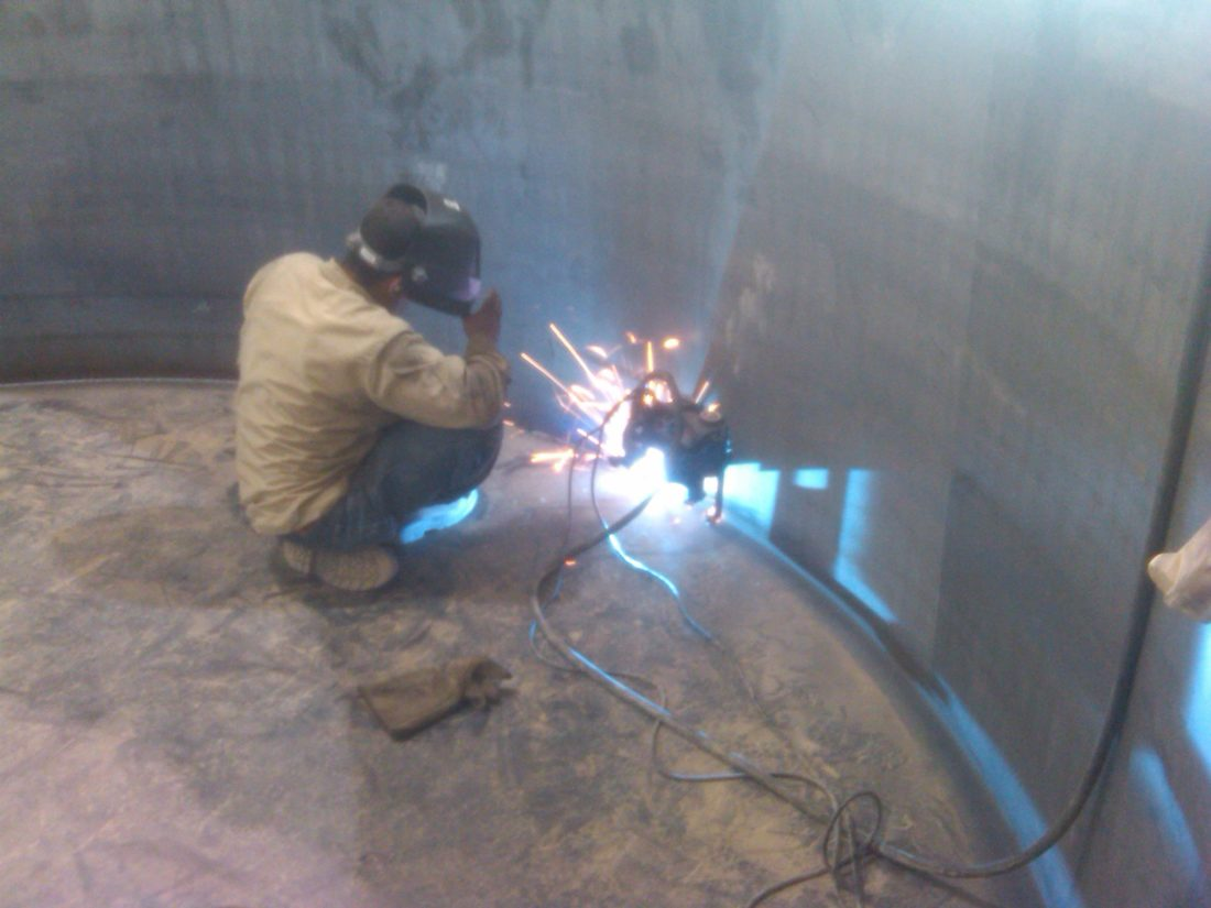 API Tank Welding