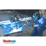 Steelmax Introduces Rail Runner II Modular Welding Carriage