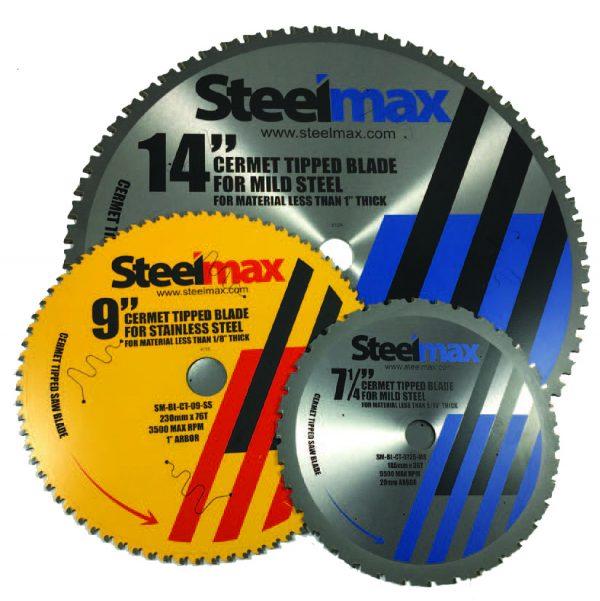 Steelmax Cermet-Tipped Saw Blades